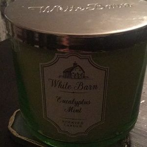 Bath and body works WB Eucalyptus Mint Candle